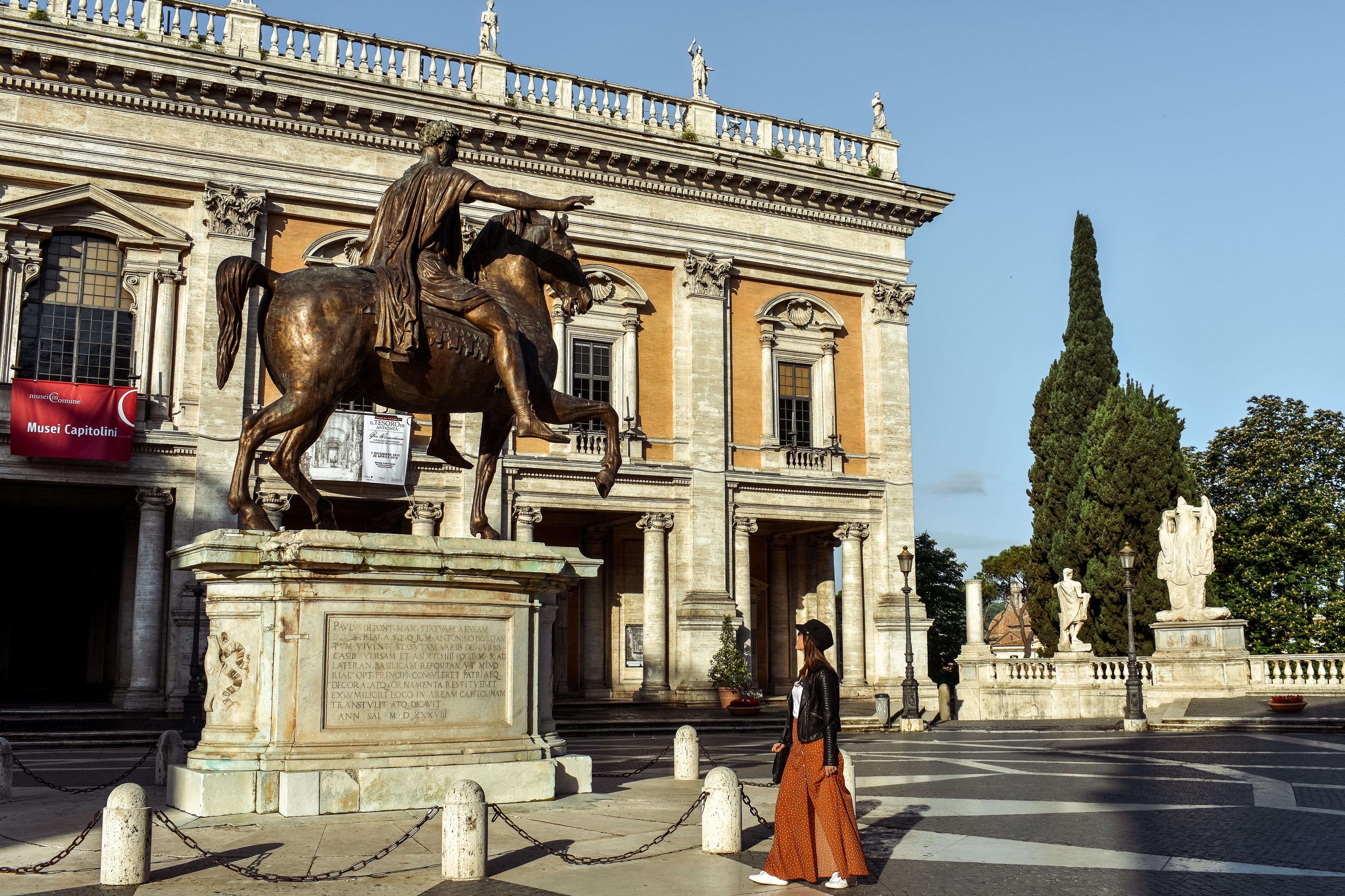 Three-Days-In-Rome-Piazza-del-Campidoglio