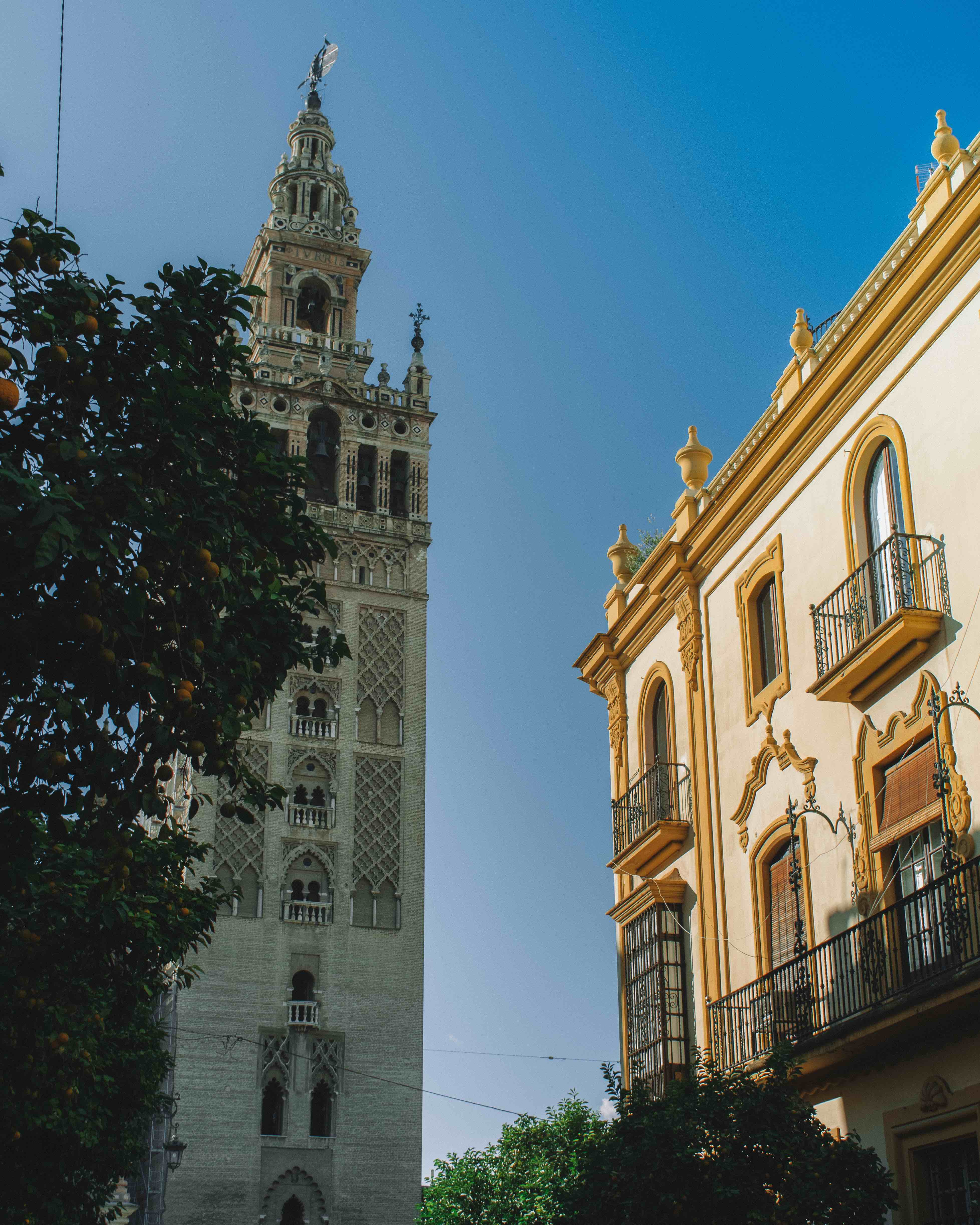 Seville Cathedral Giralda Bell Tower