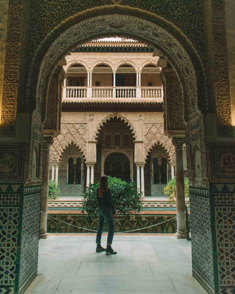 Real Alcázar of Seville - Maidens Courtyard