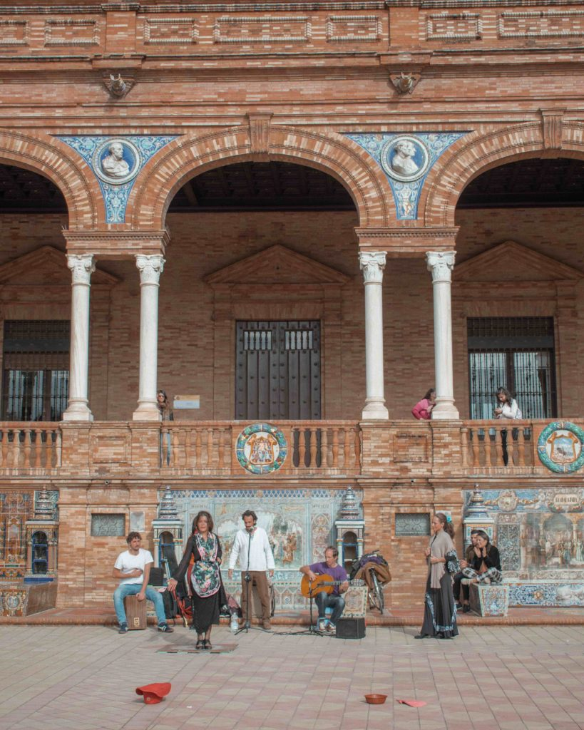 Flamenco at Plaza de Espana Seville City Guide