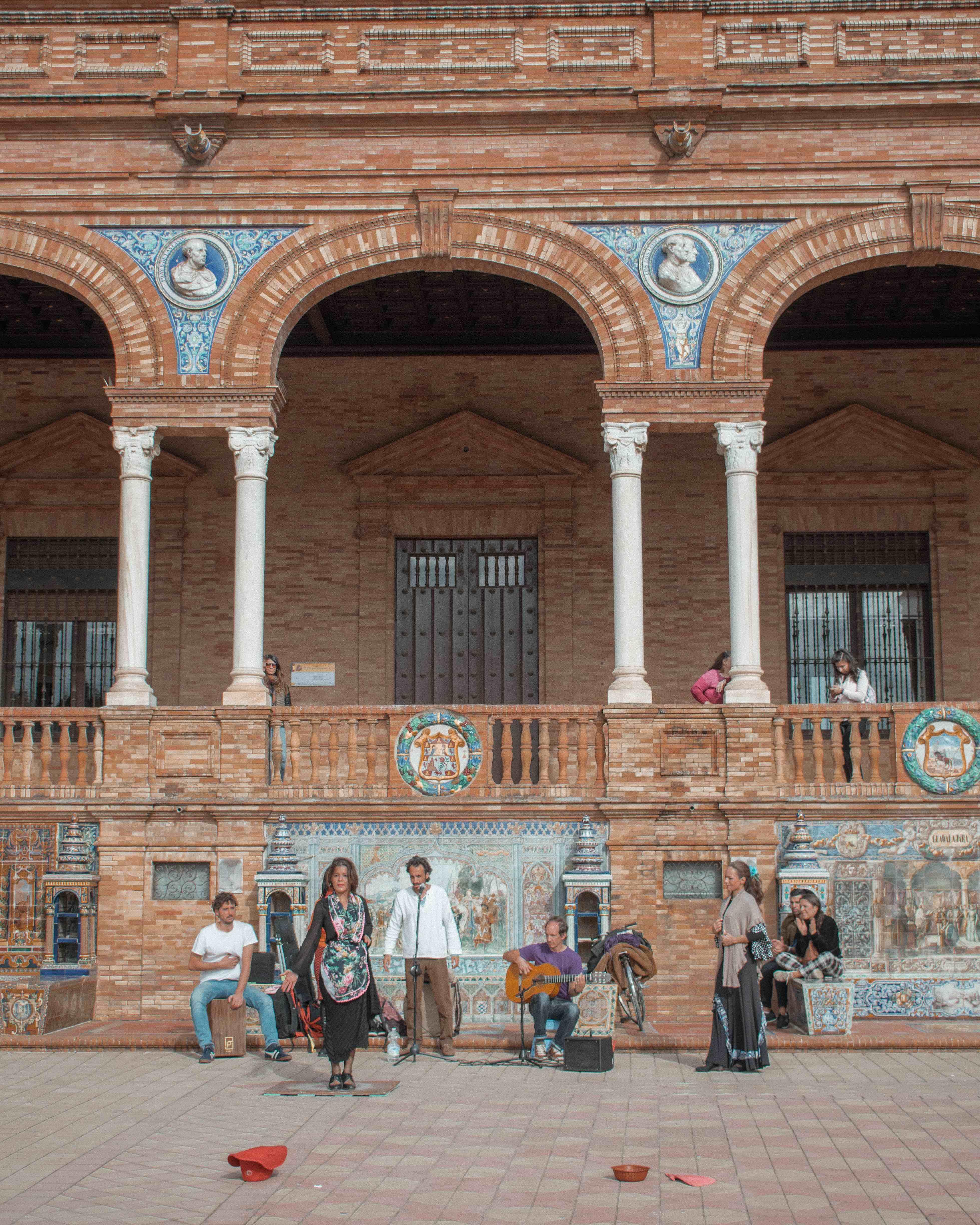 Flamenco at Plaza de Espana Seville City Guide
