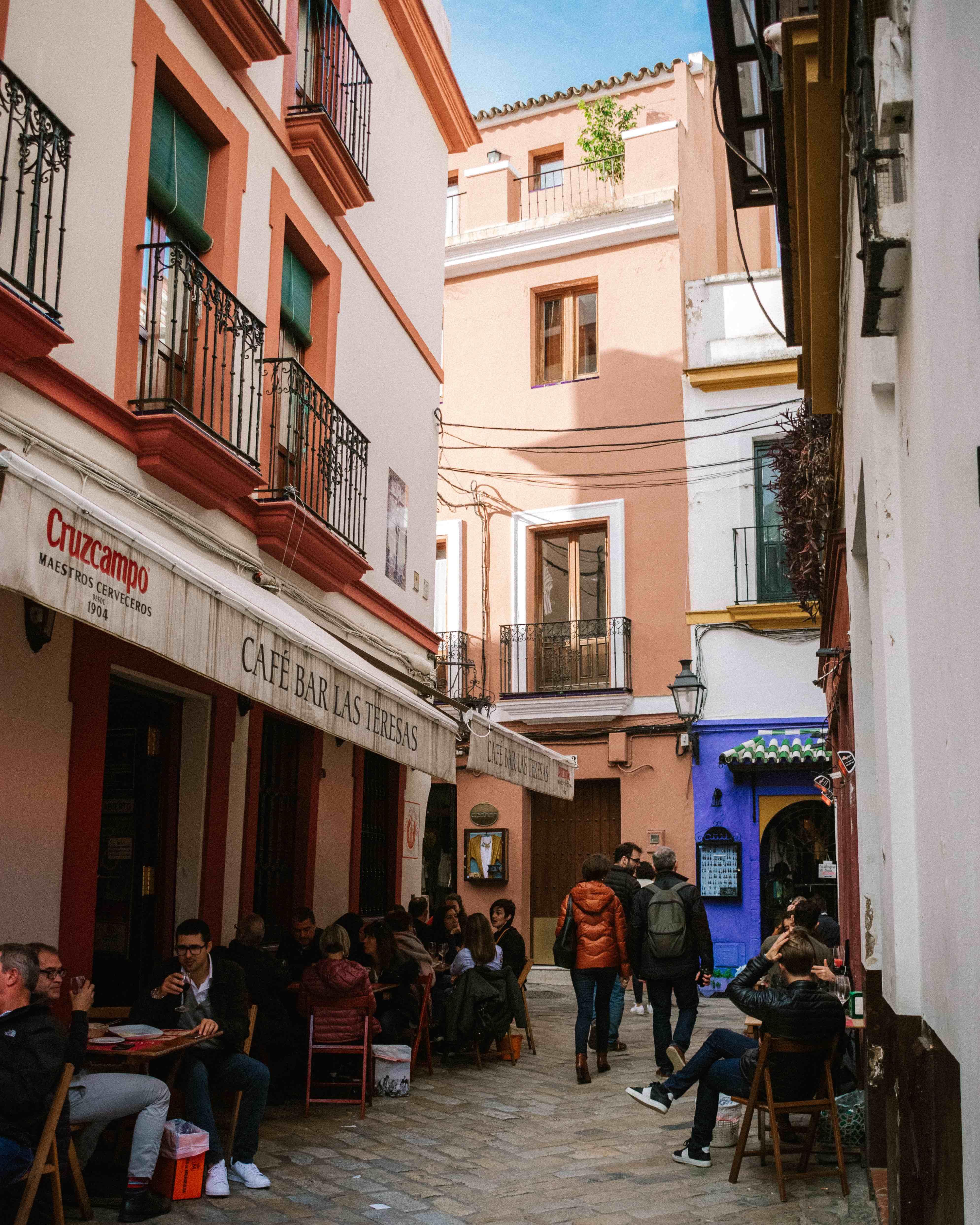 Seville in November