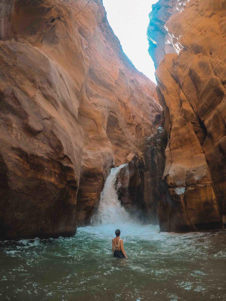 The Siq Trail, Wadi Mujib