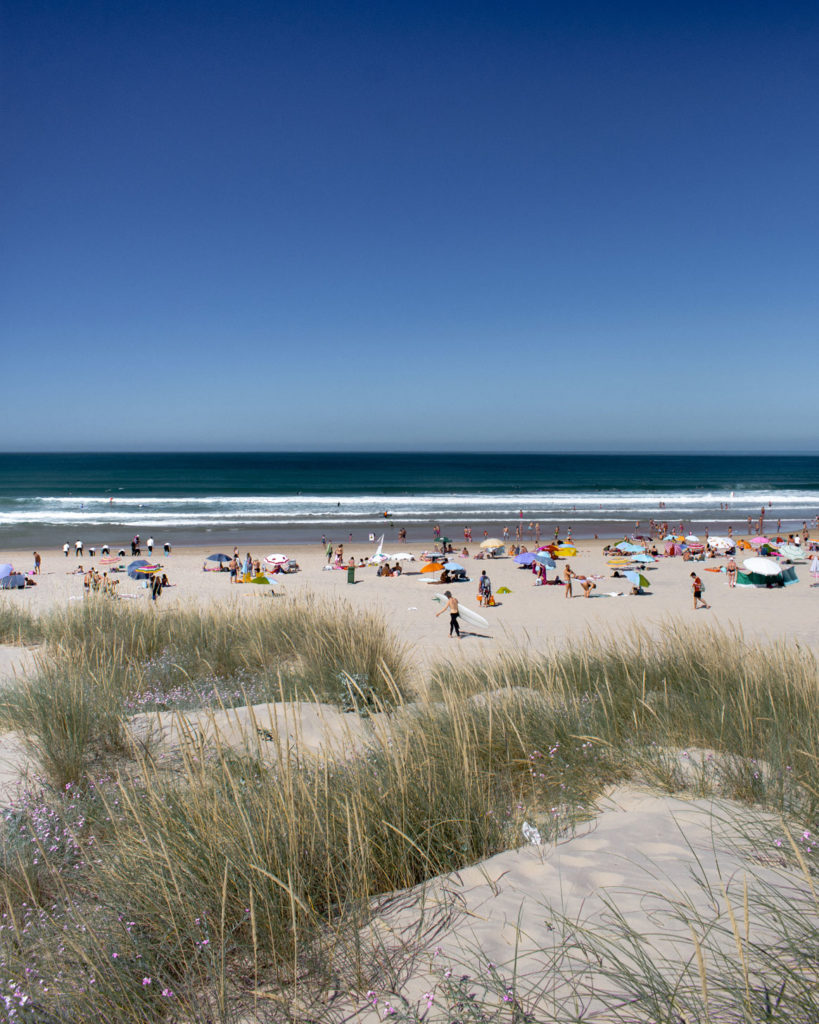Best beaches near Lisbon Costa da Caparica