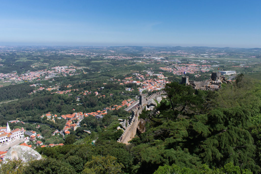 The Castle of the Moors visiting Sintra from Lisbon