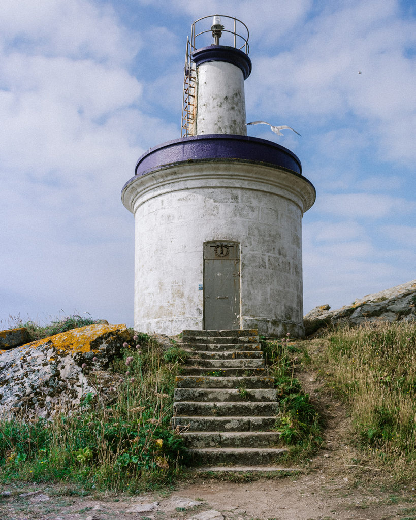 Cies Islands Galicia Lighthouse