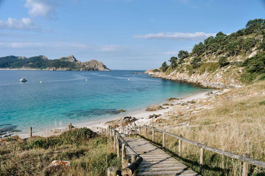 Nosa Senora Beach Cies Islands Spain
