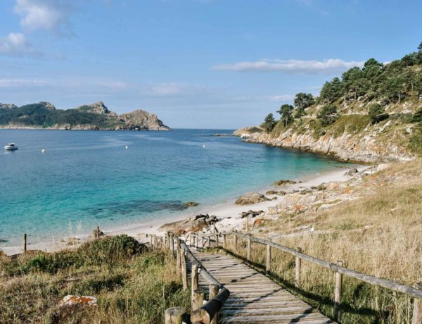 Nosa Senora Beach Cies Islands Spain