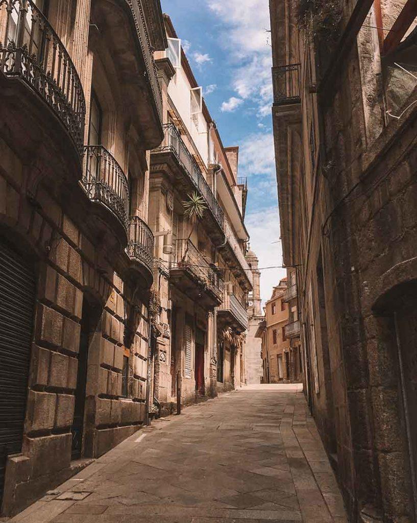 A street in Vigo Old Town