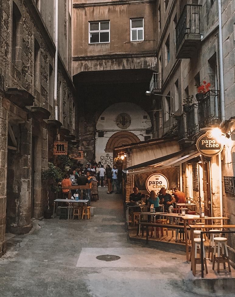 Vigo Old Town Galicia