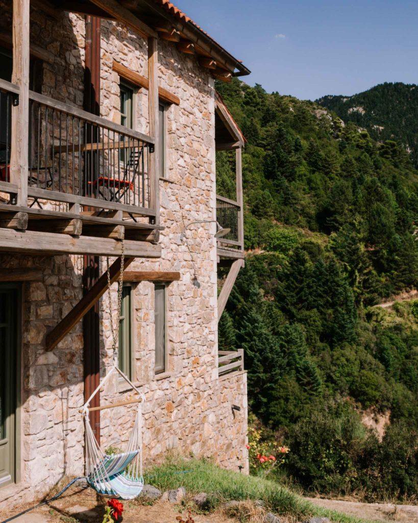Facade of Pritanio Guesthouse