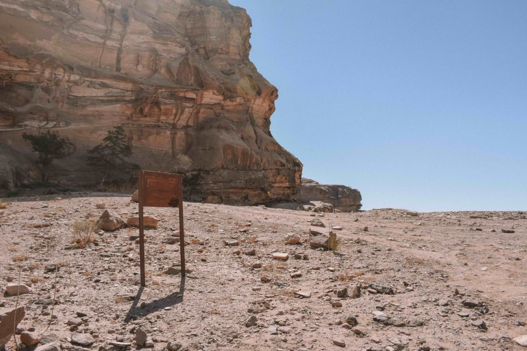 Hike from Little Petra to the Monastery